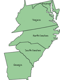 The Southern Colonies [ushistory.org]